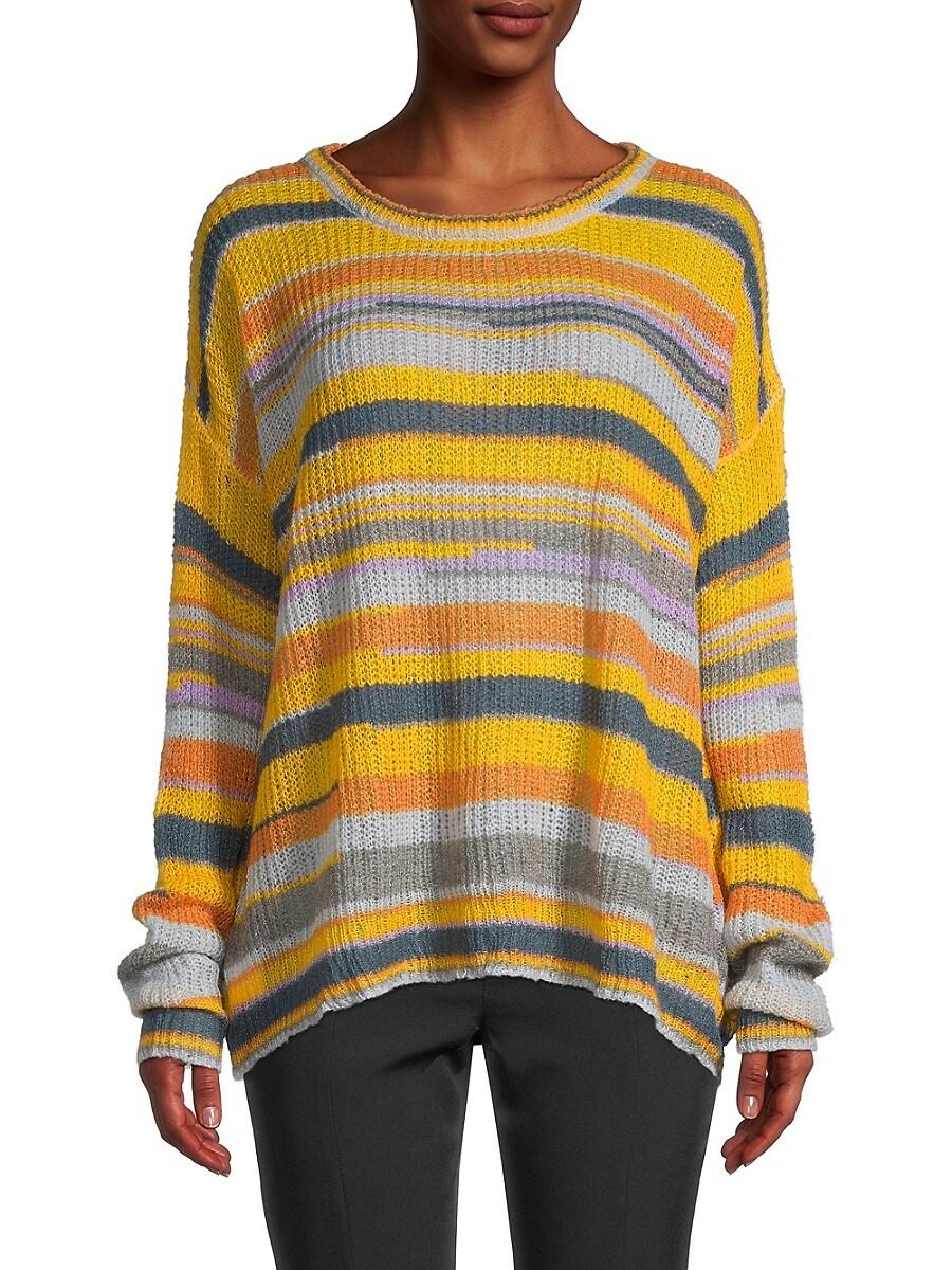 Women's Lightweight Stripe Sweater