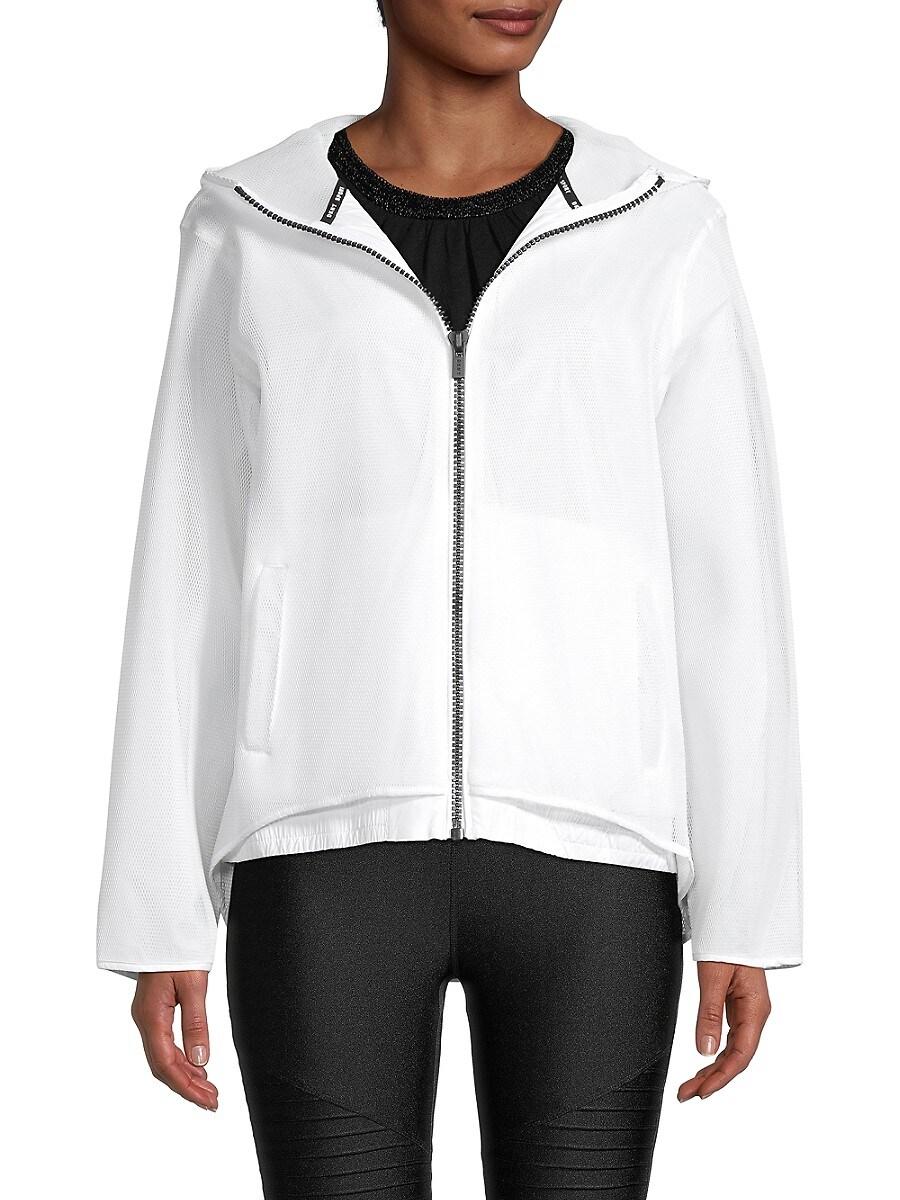 Women's Hooded Mesh Jacket