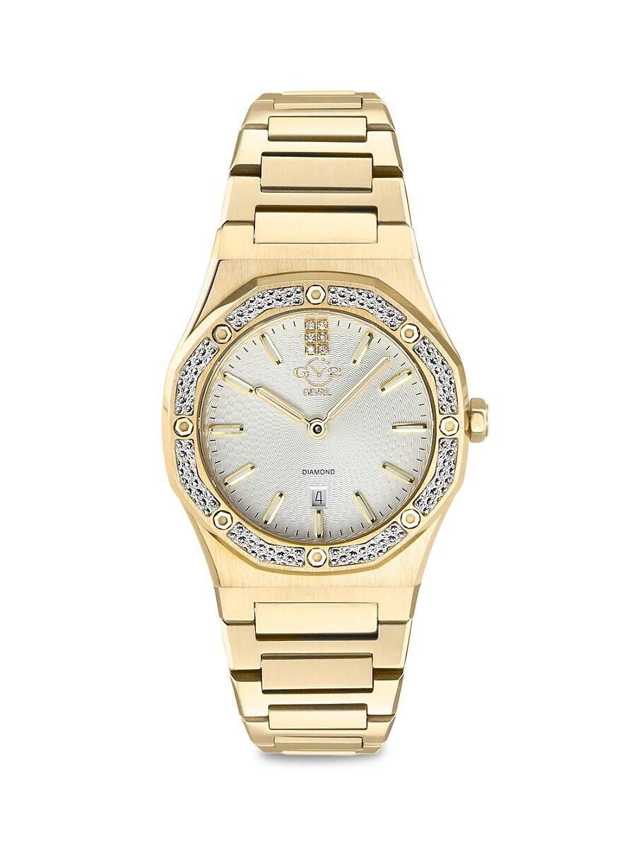 Women's Palmanova Goldtone Stainless Steel & Diamond Watch