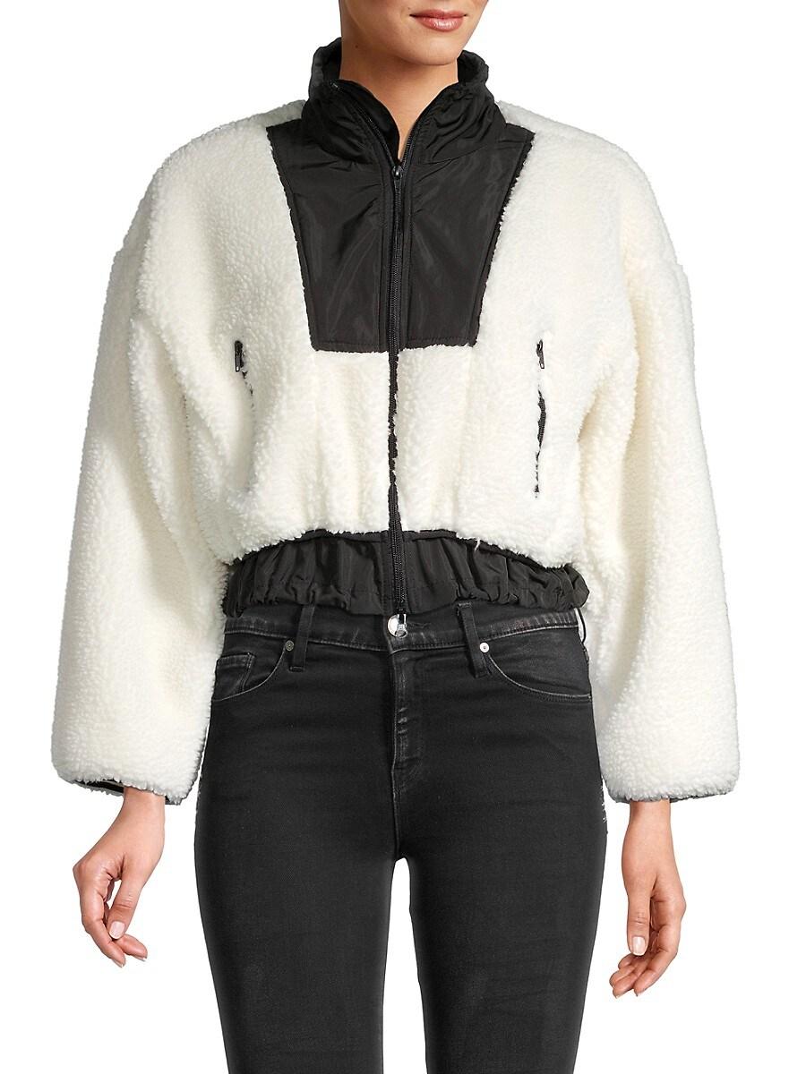 Women's Faux Fur Teddy Bomber