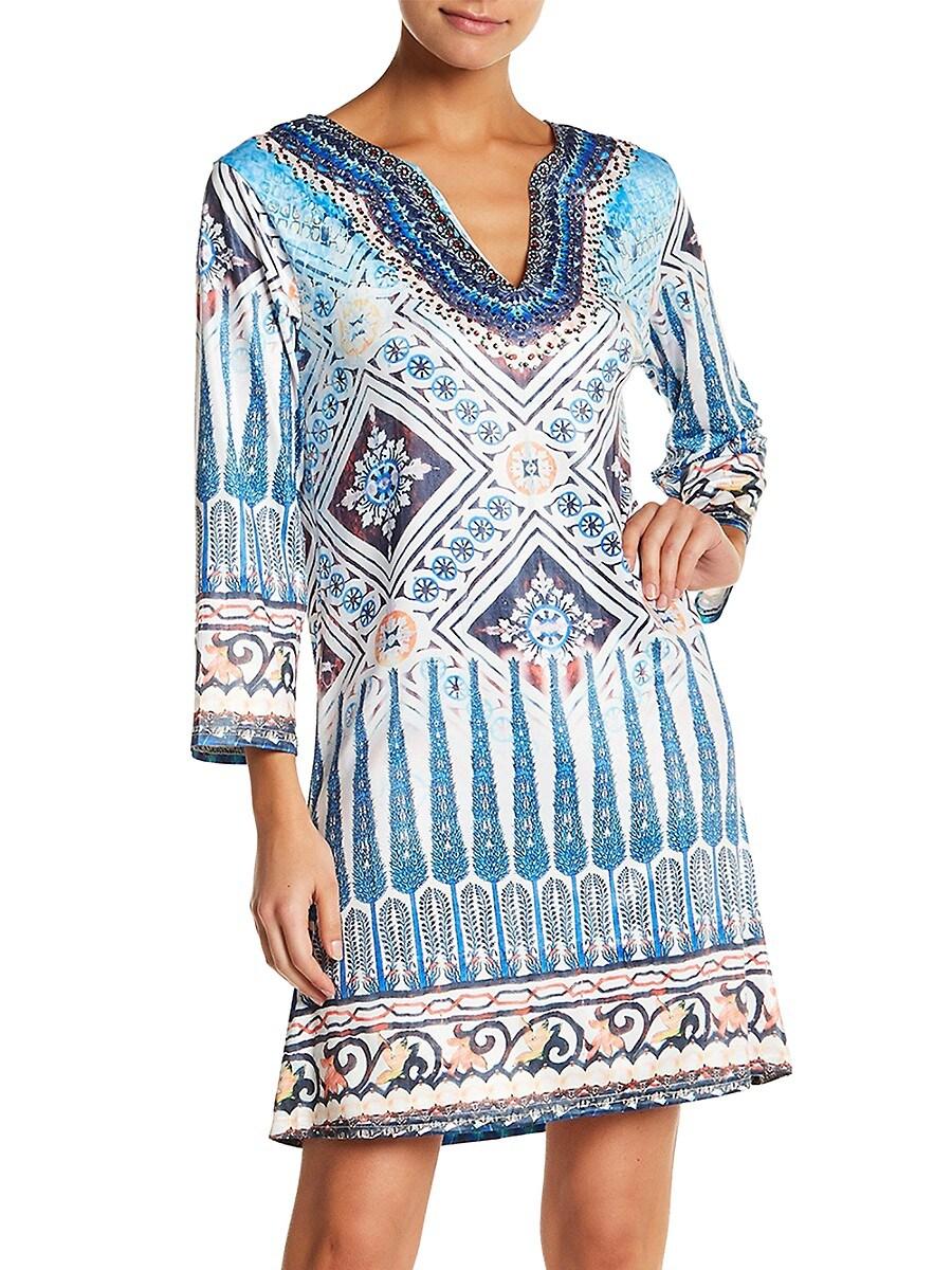 Women's Printed Coverup Dress