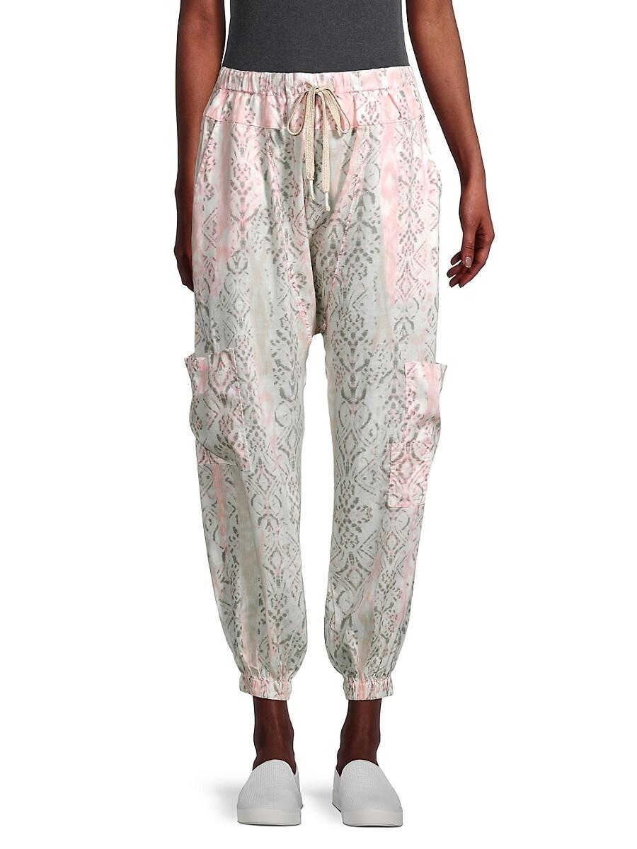 Women's Rise To The Sun Printed Harem Pants