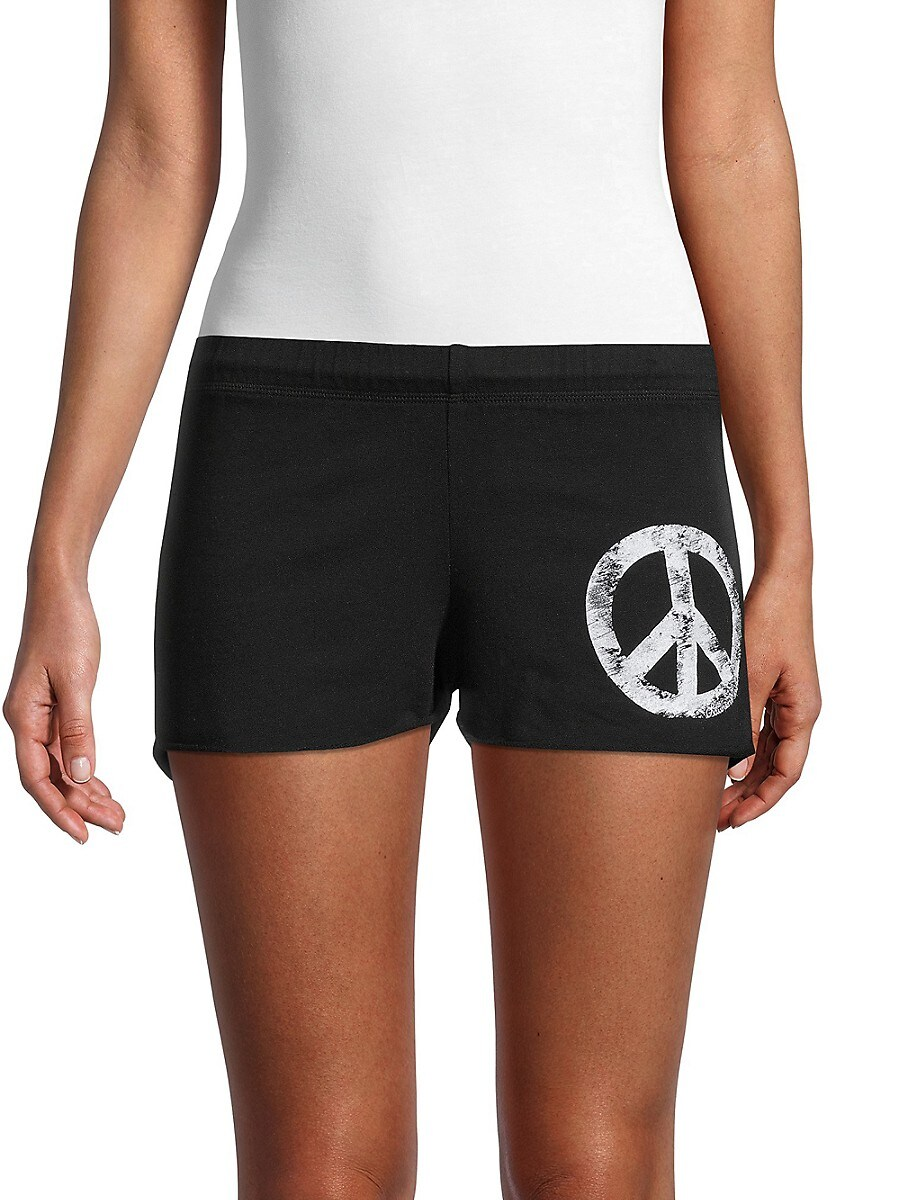 Women's Peace Knitted Shorts