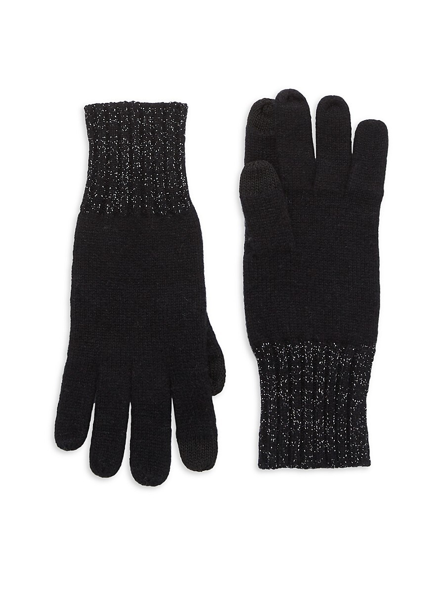 Women's Cashmere-Blend Gloves