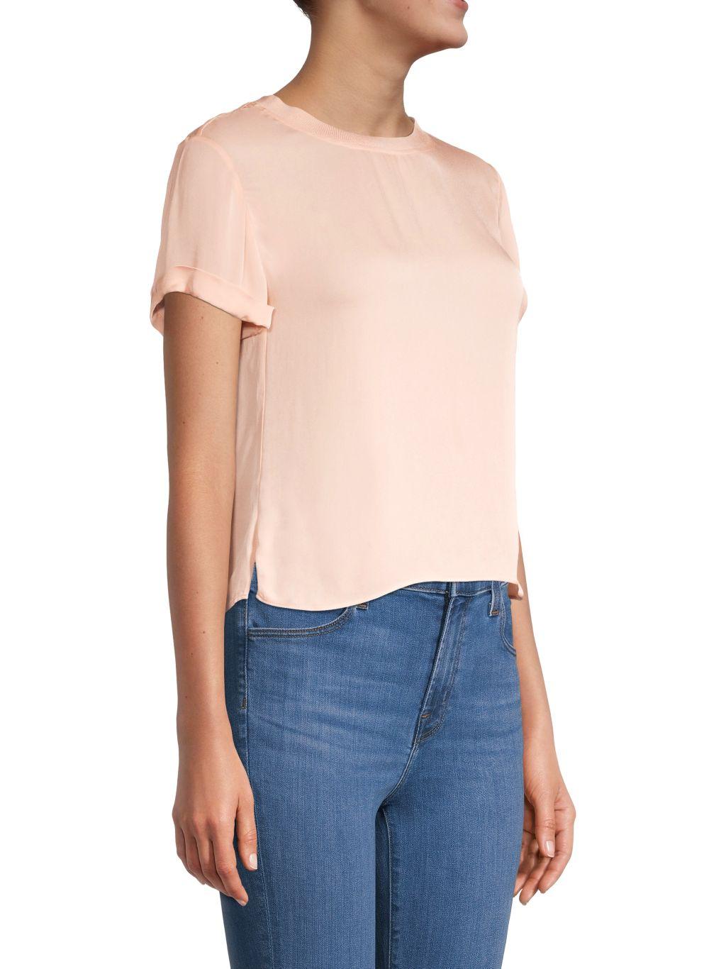 Alice + Olivia Jann Boxy T-Shirt
