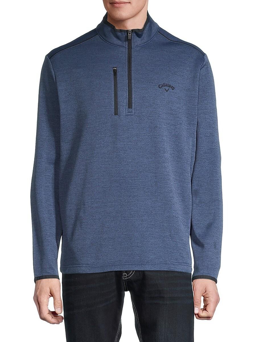 Men's Three-Quarter Zip Jacket