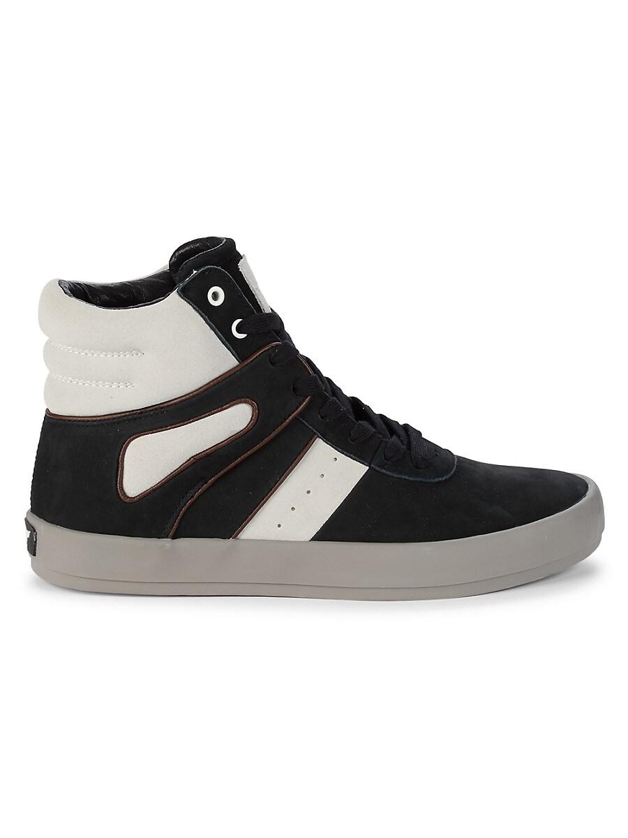 Men's Moretti Suede High-Top Sneakers