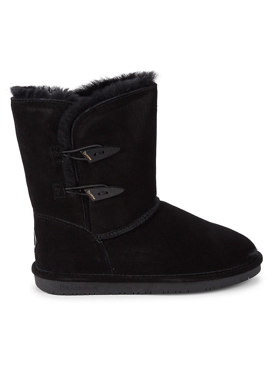 Women's Abigail Faux Fur & Suede Boots
