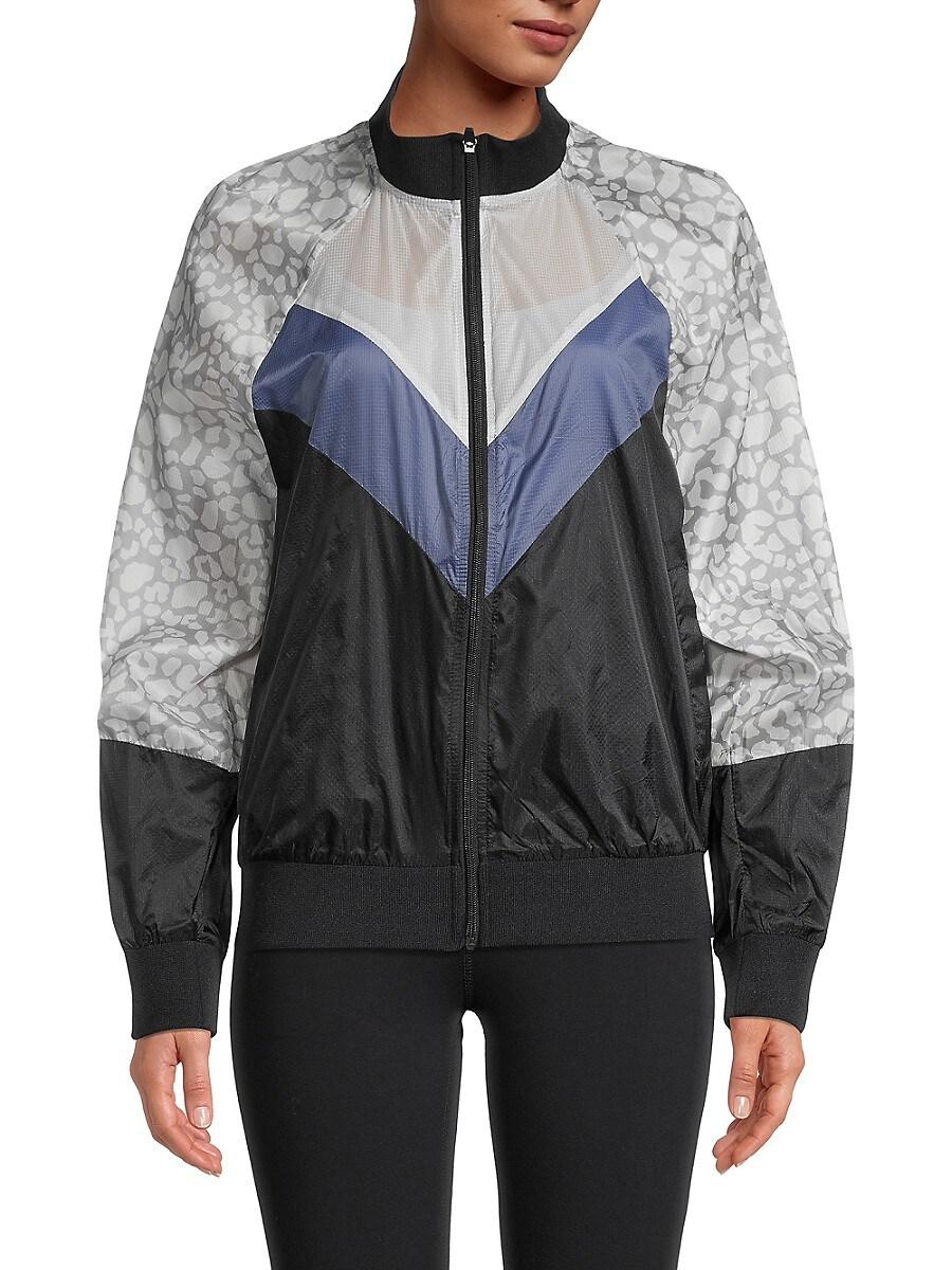 Women's Printed Full-Zip Jacket