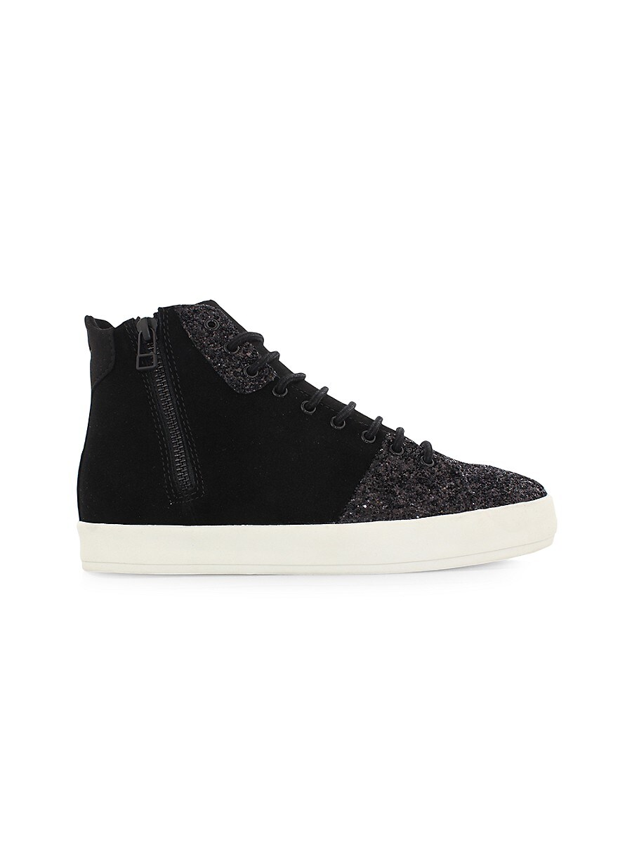 Women's Carda Leather High-Top Sneakers