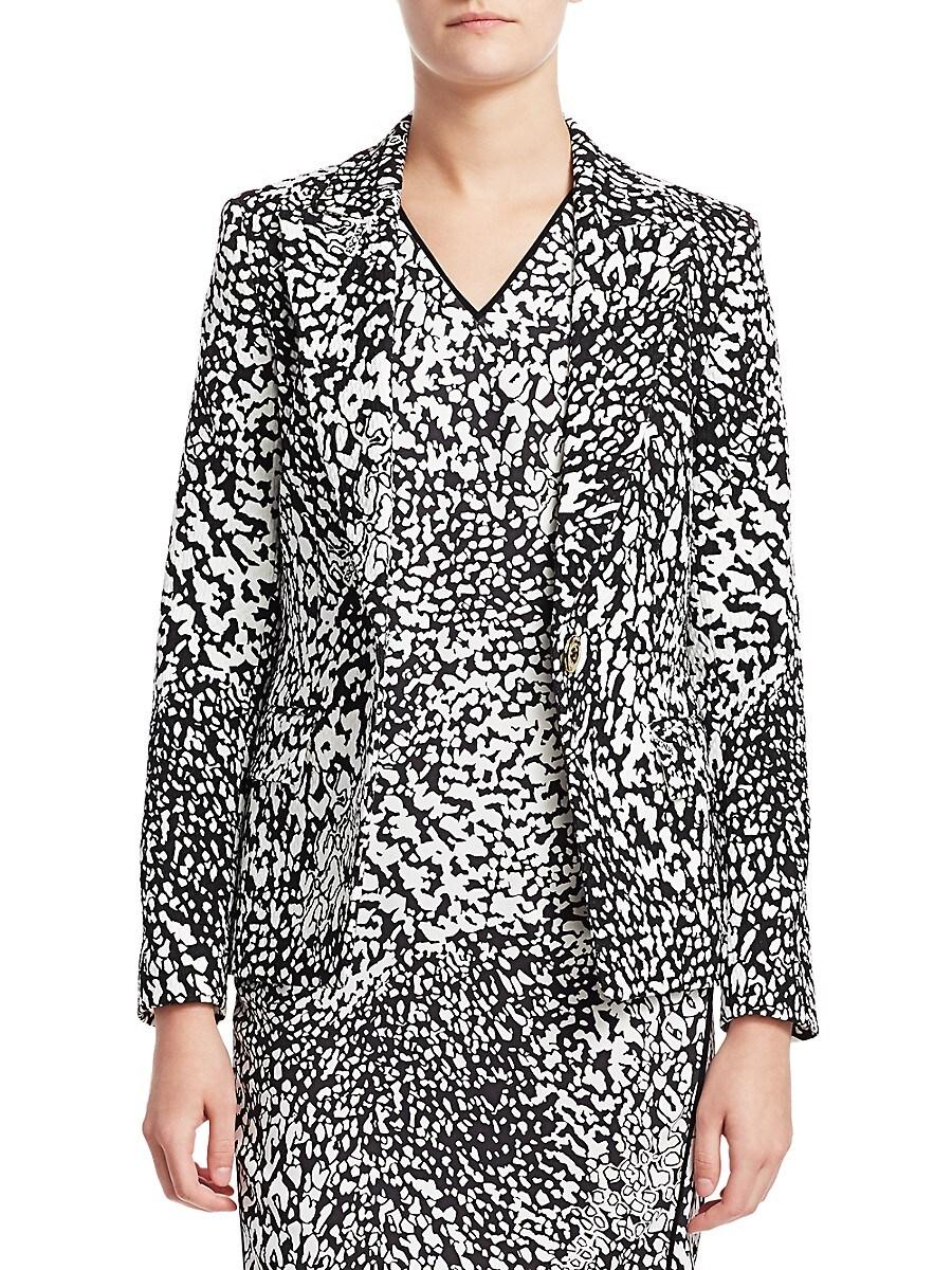Women's Bikenati Abstract Leopard Print Jacket