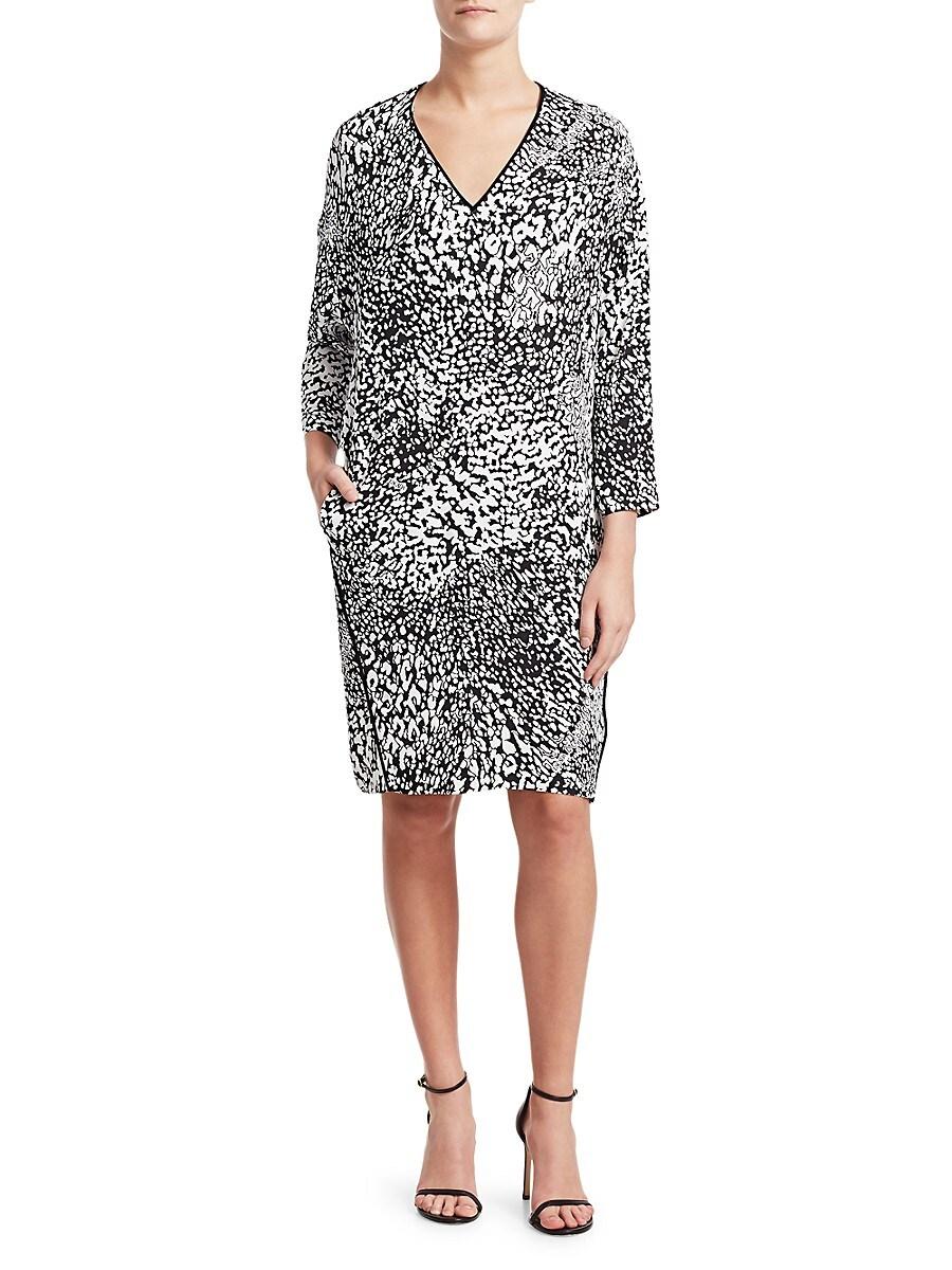 Women's Dixani Abstract Leopard-Print Shift Dress