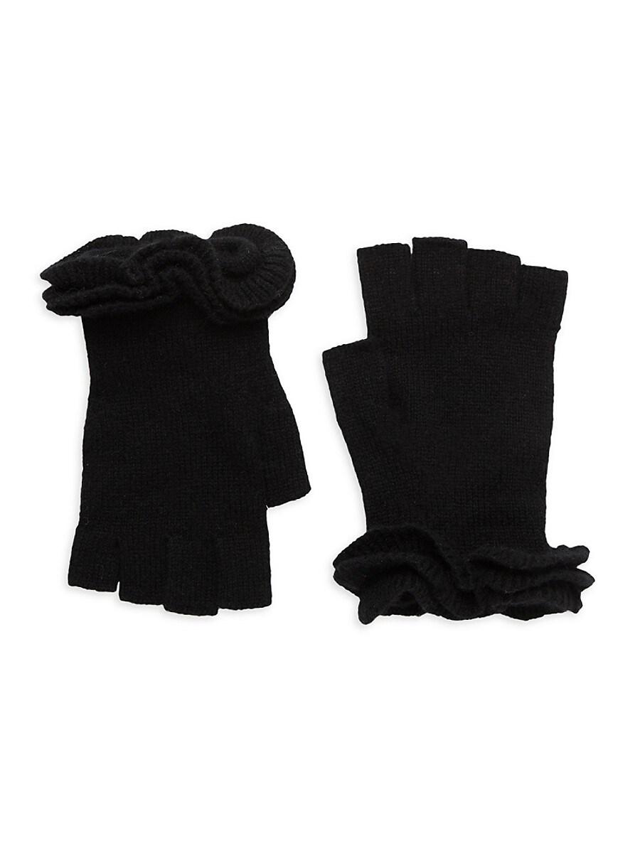 Women's Rib-Knit Cap-Sleeve Sweater