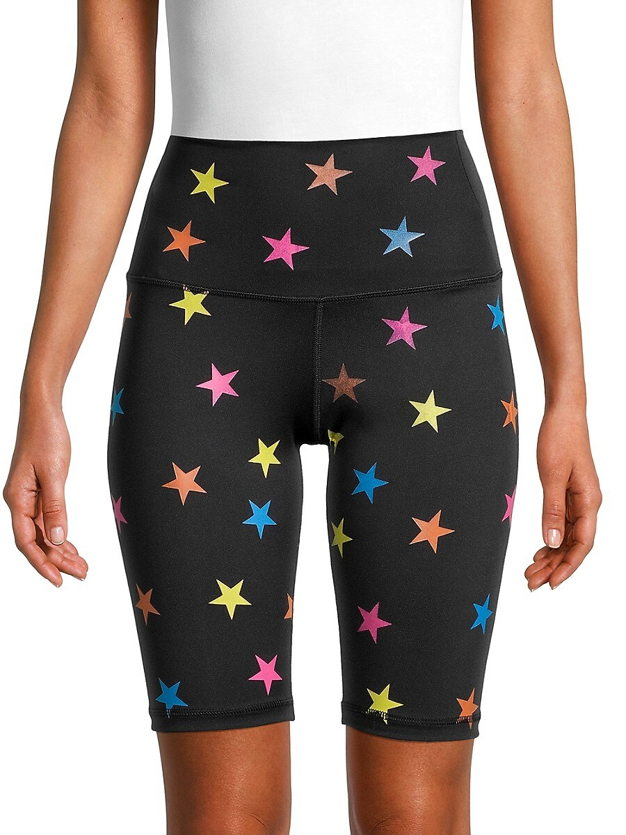 Women's Star-Print Bike Shorts