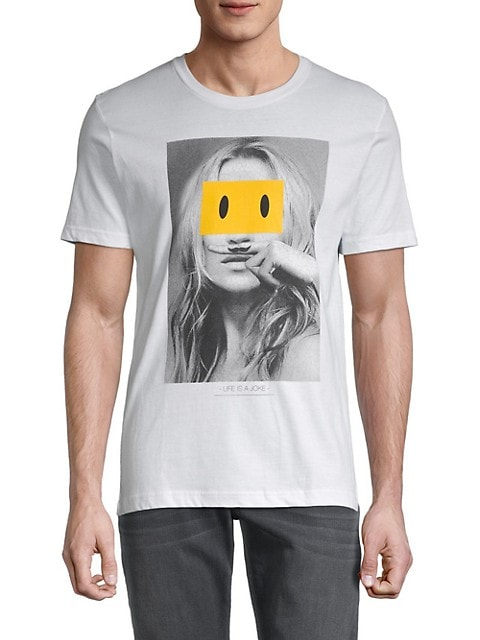Smiley x Eleven Paris Graphic T-Shirt