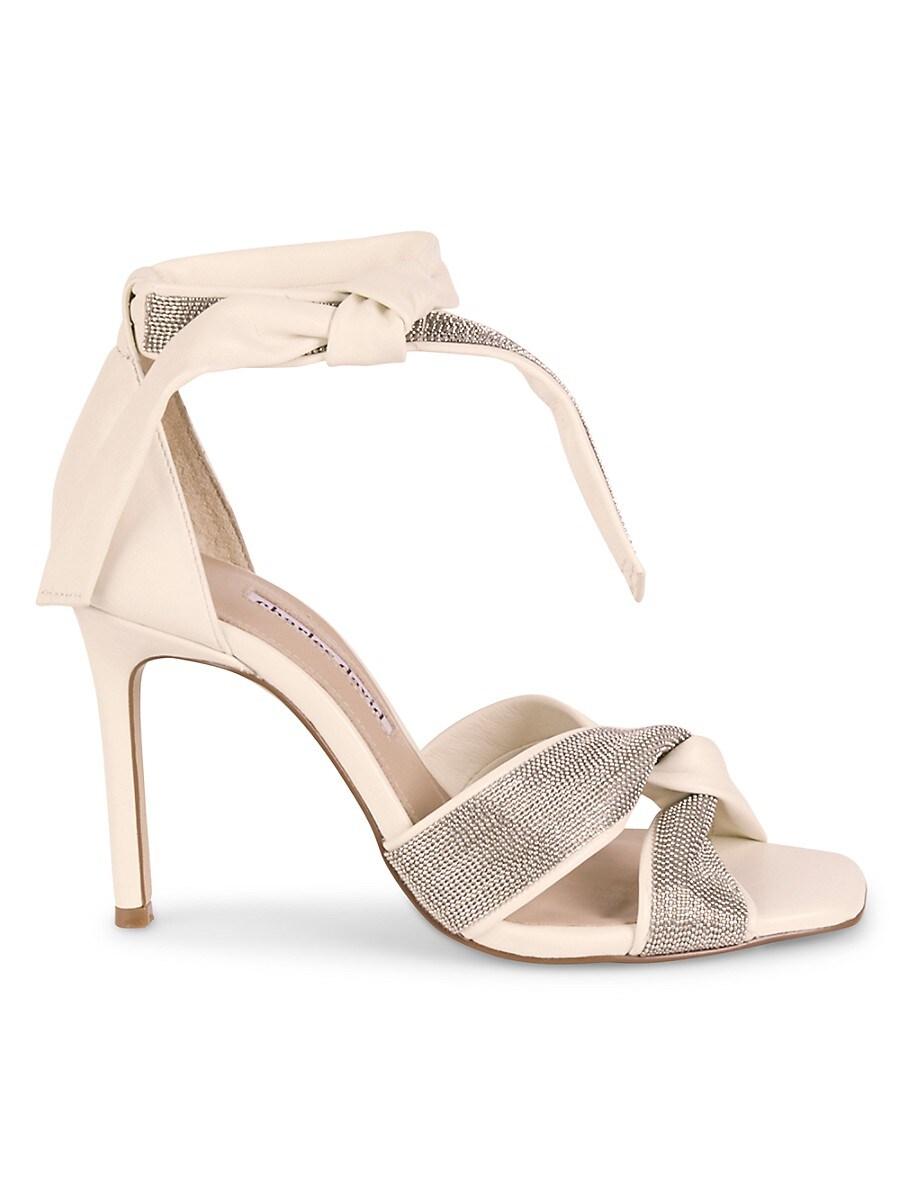 Women's Espionage Leather Anke-Tie Sandals