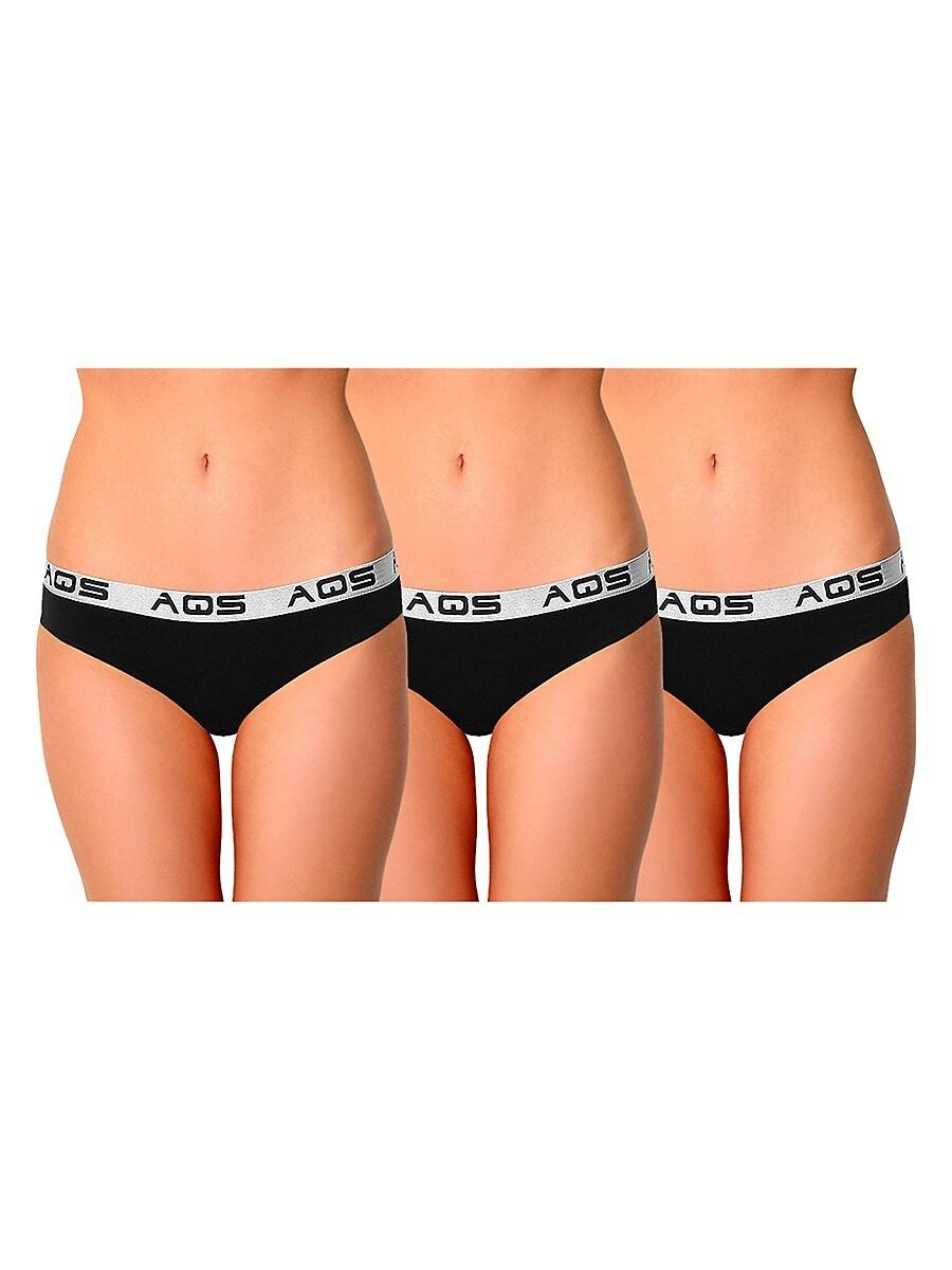 Women's 3-Pack Stretch-Cotton Bikini Panties