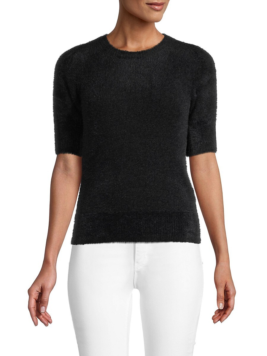 Women's Puff-Sleeve Sweater