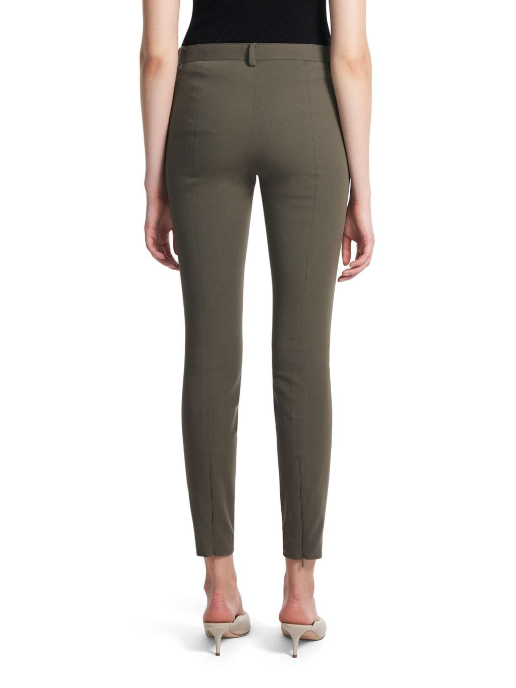 Theory Twill Seamed Trousers