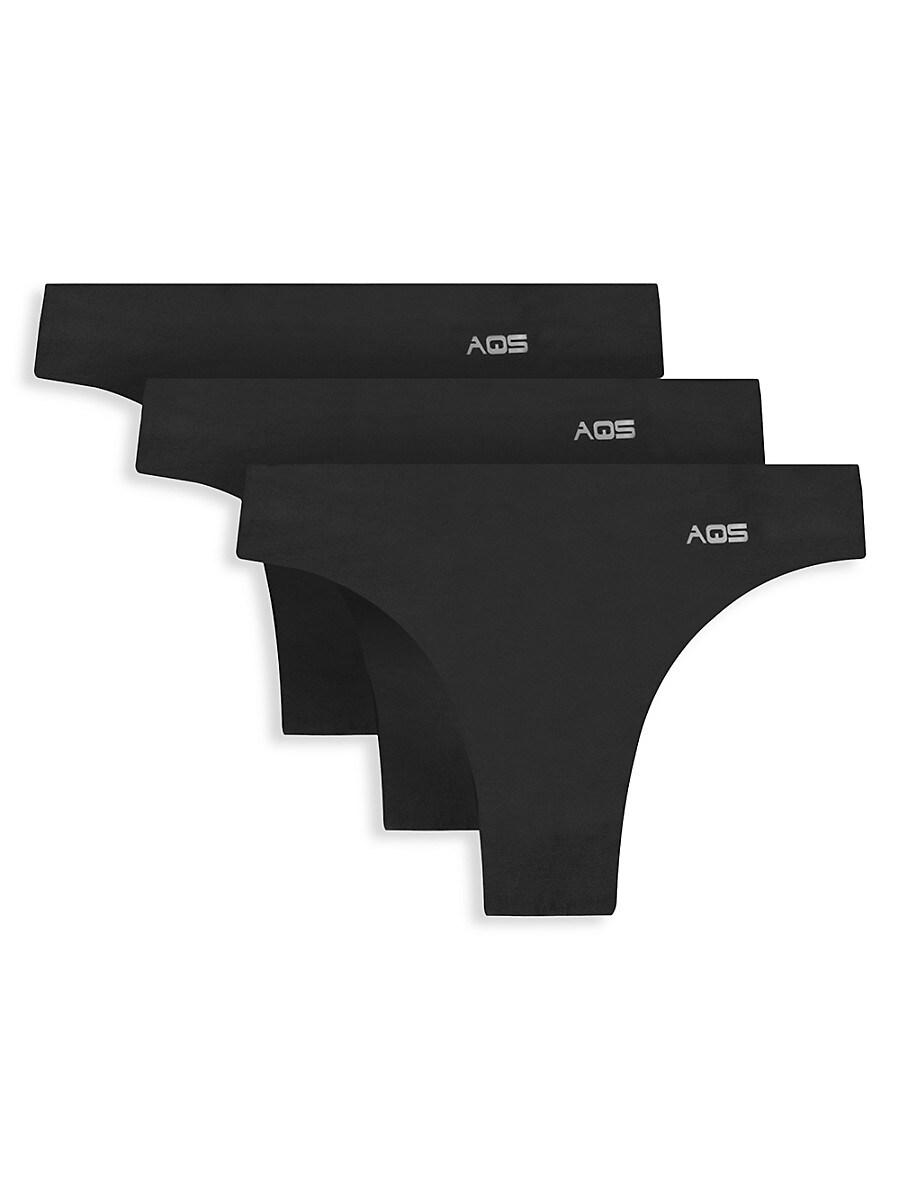 Women's 3-Pack Seamless Thongs