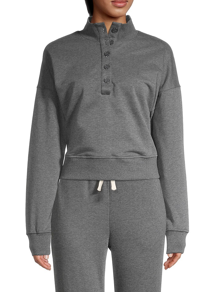 Women's Half-Button Pullover