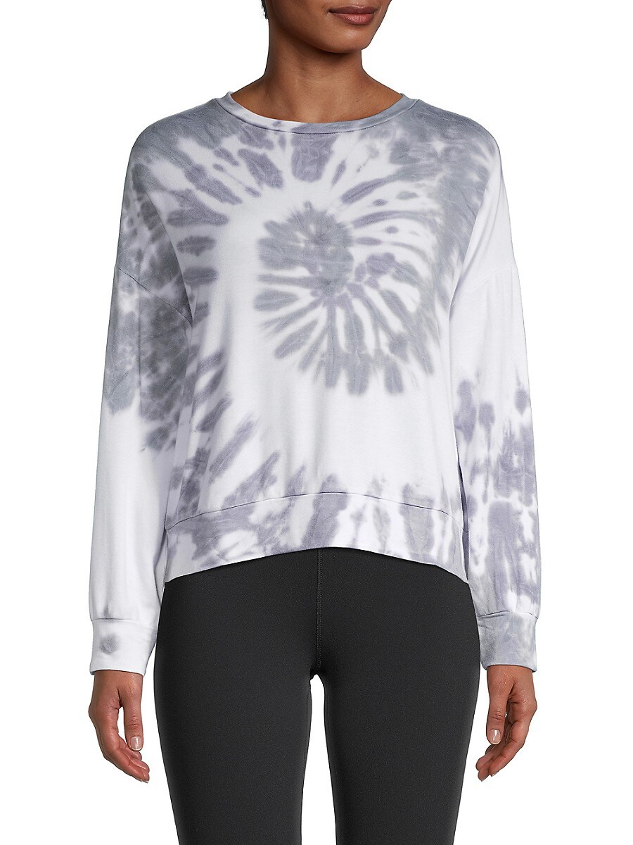 Women's Tie-Dyed Pullover Sweater