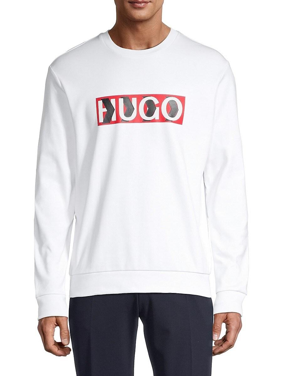 Men's Graphic Logo Cotton Sweatshirt