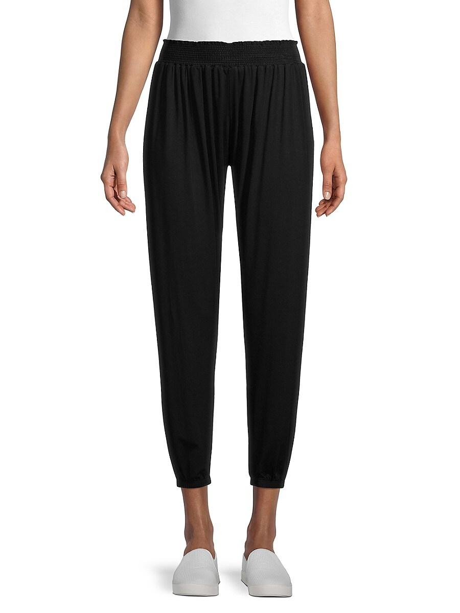 Women's Smocked Flowy Pants