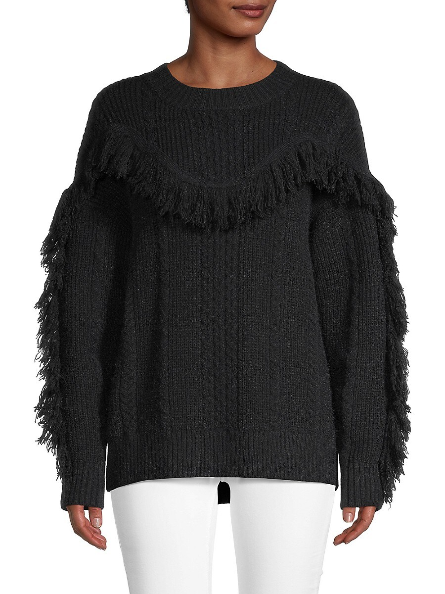 Women's Fringed Sweater