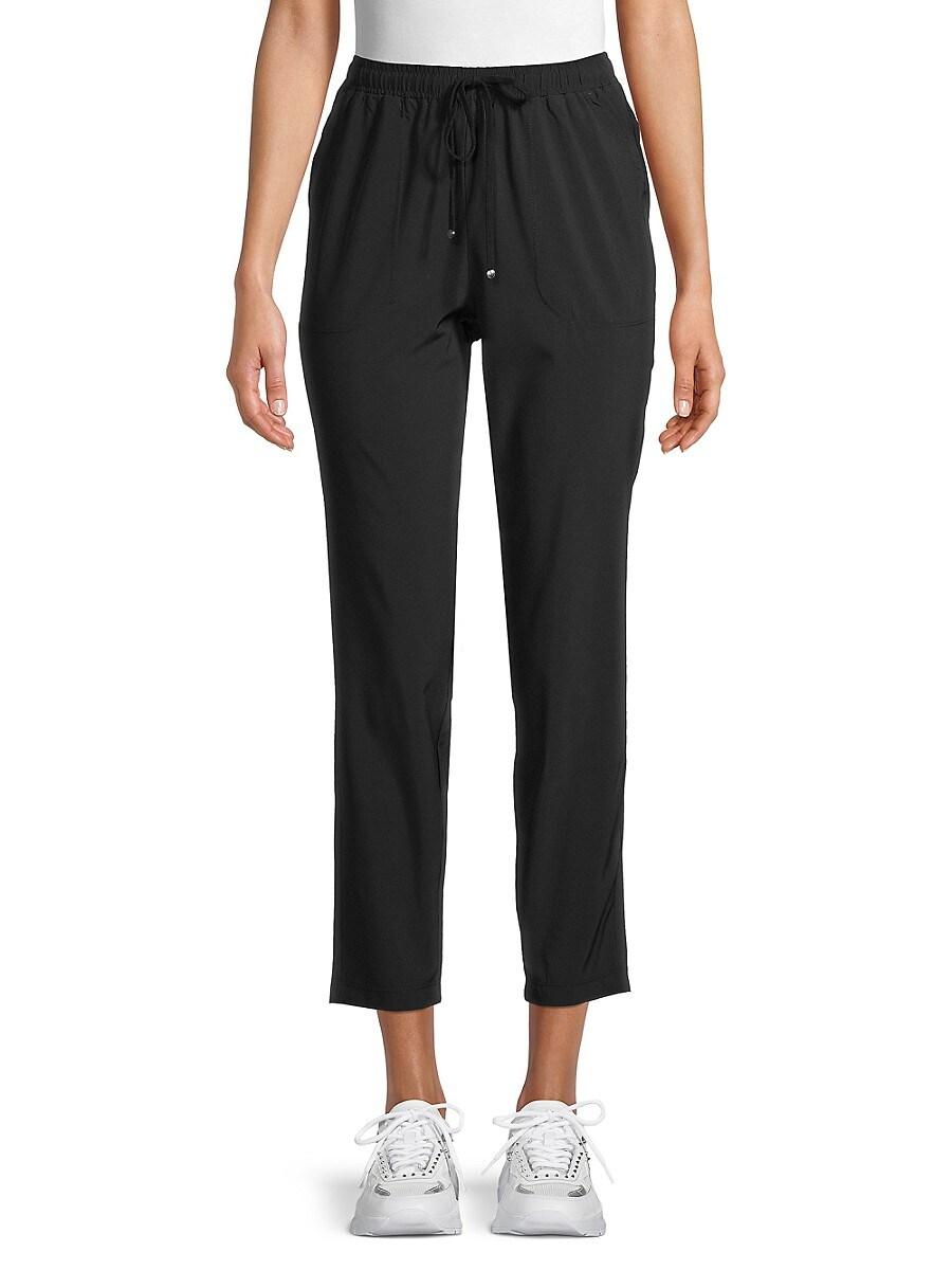 Women's Cropped Drawstring Pants