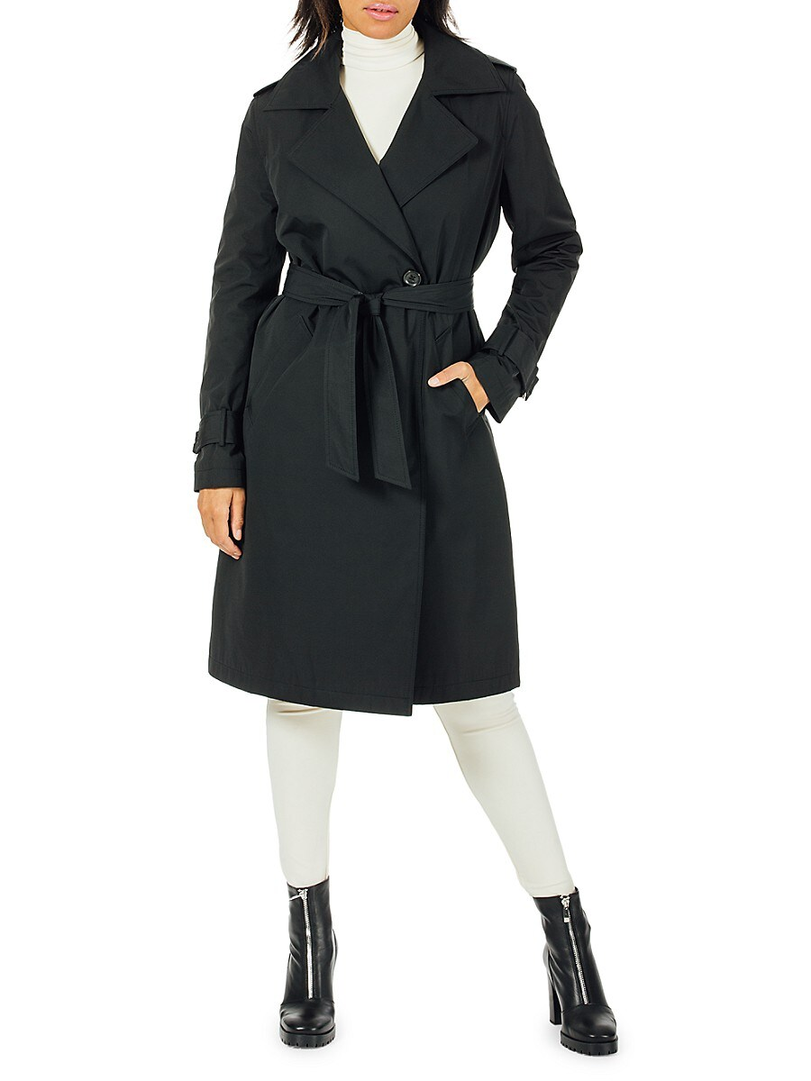 Women's Minimalist Trench With Detachable Liner