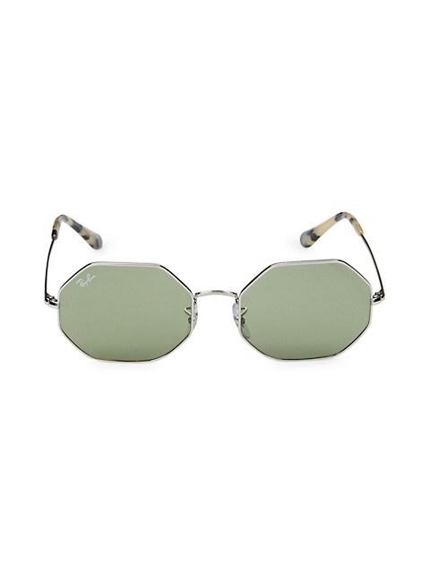 RB1972 54MM Geometric Sunglasses