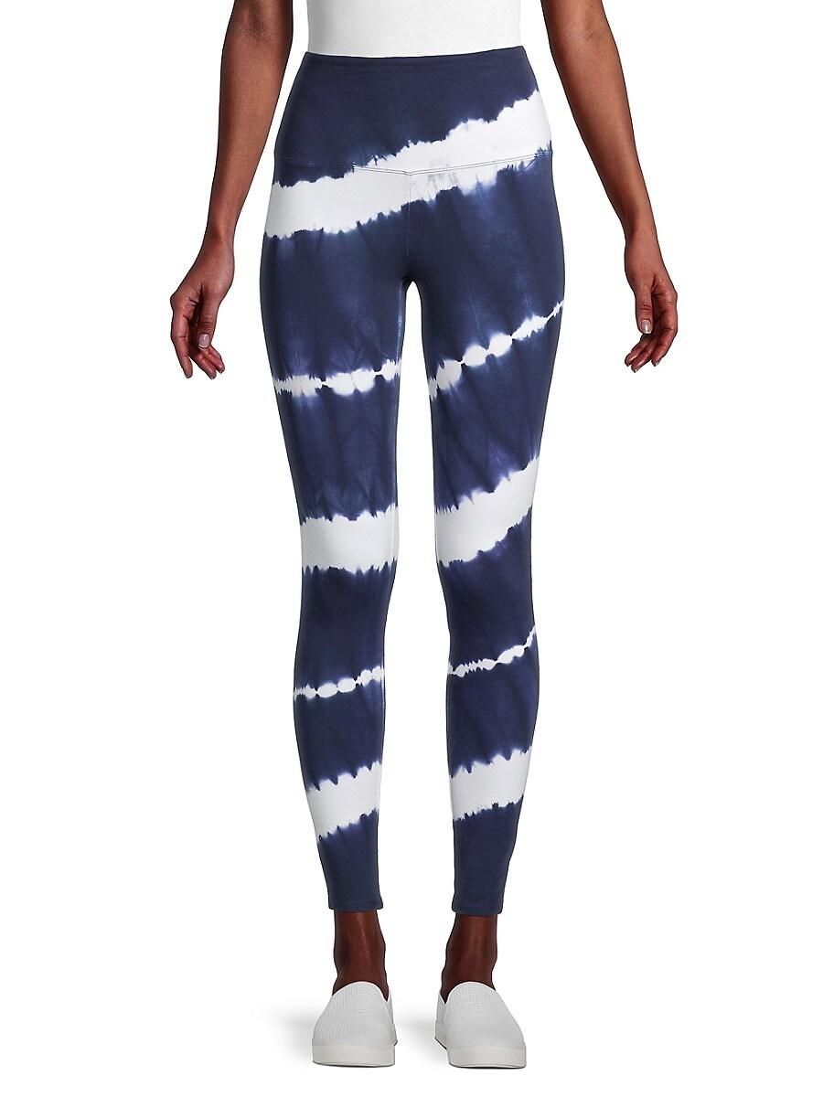 Women's High-Waist Tie-Dye Leggings