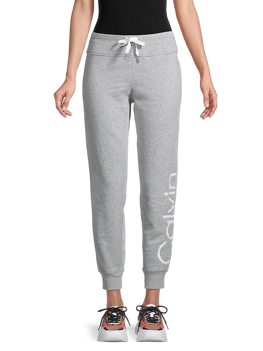 Women's Logo Cotton-Blend Jogger Pants