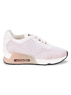 ASH Lucky Mesh Sneakers,PINK WHITE
