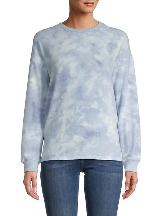 Olive & Oak Star-Print Crewneck Sweater