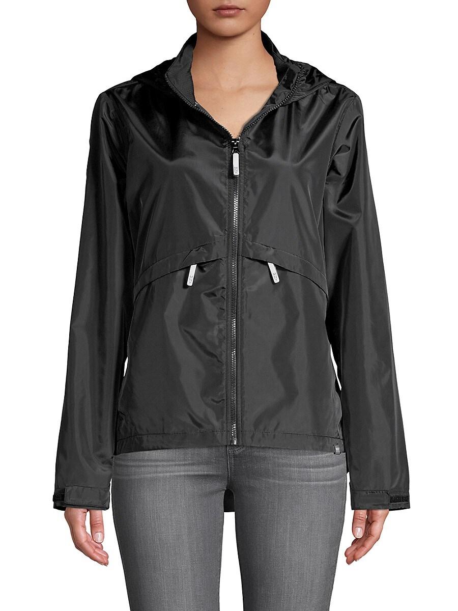 Women's Full-Zip Hooded Windbreaker