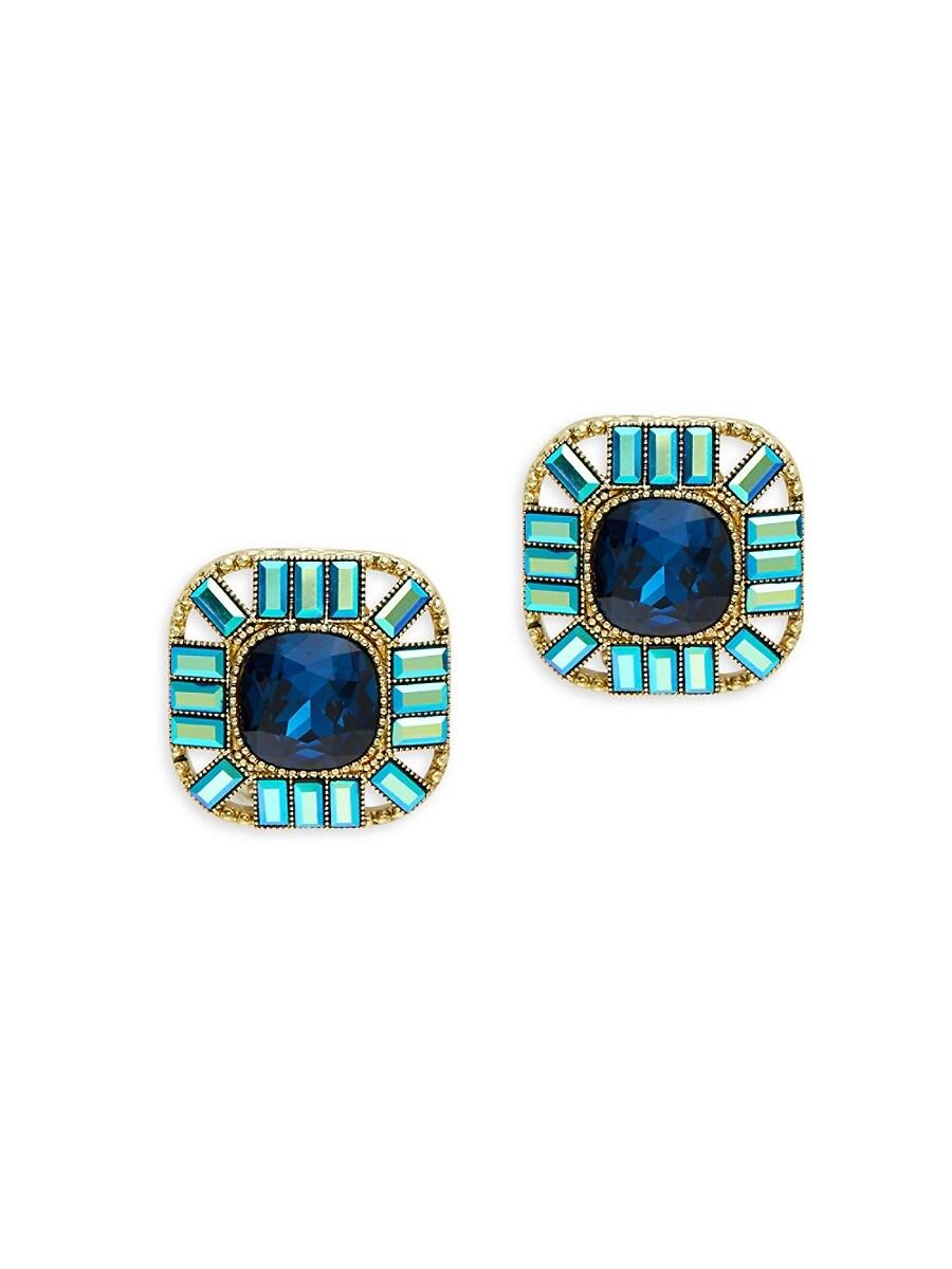 Women's Goldtone Statement Stud Earrings