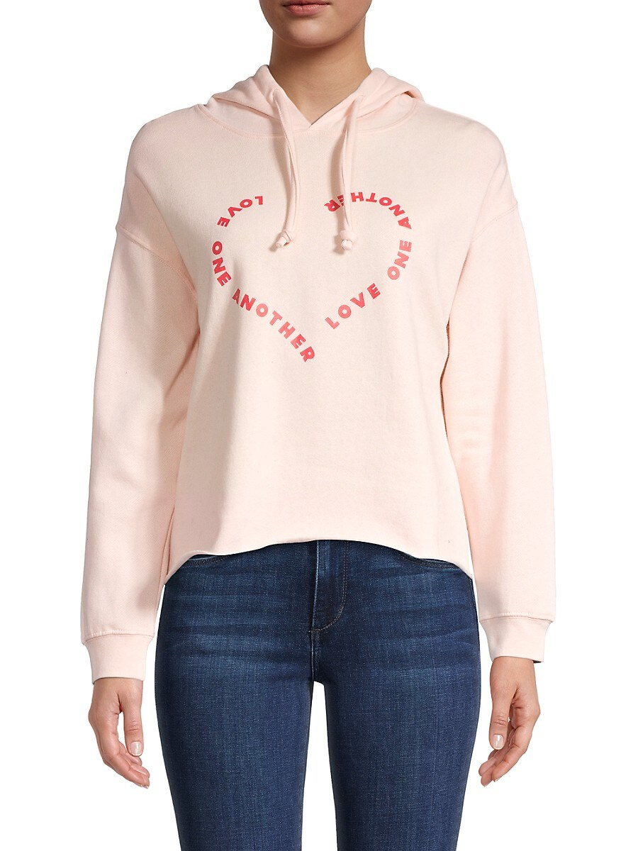 Women's Graphic Cotton-Blend Hoodie