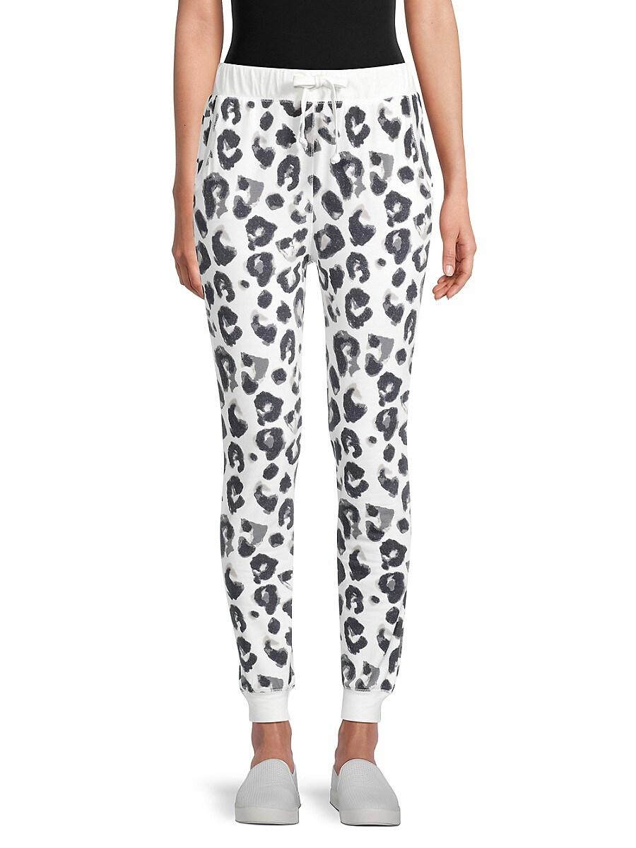 Women's Leopard-Print Pants