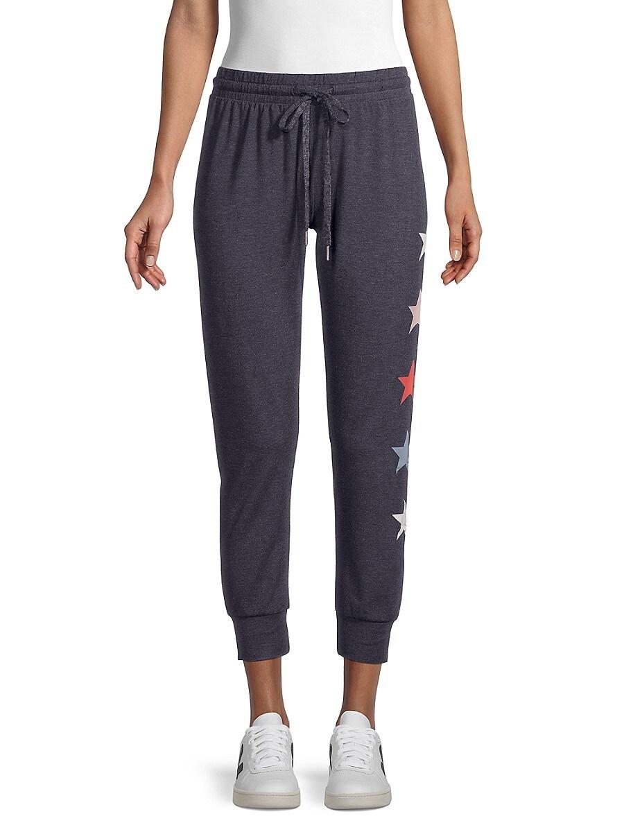 Women's Star-Print Jogging Pants