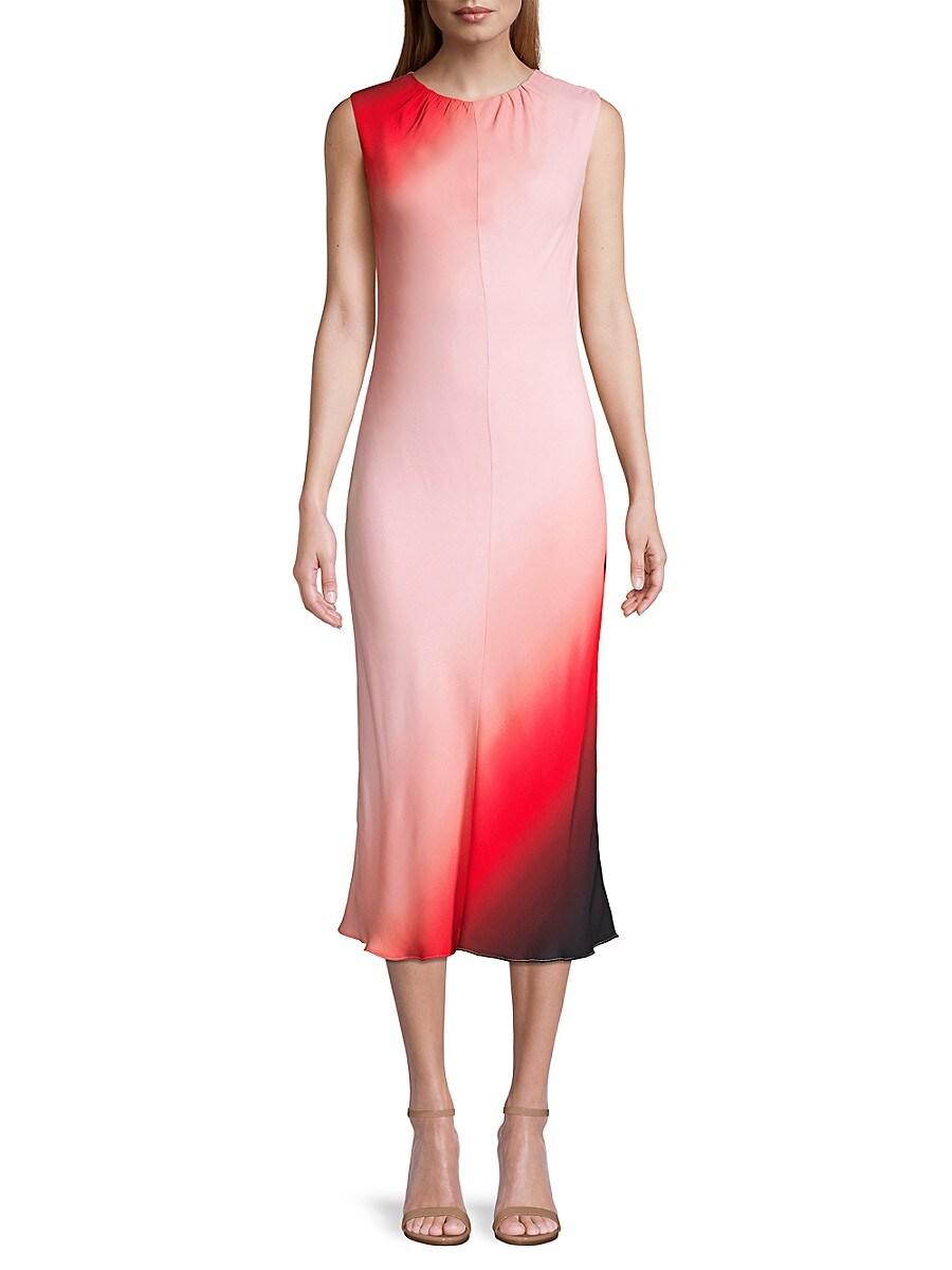 Women's Ombre Column Dress