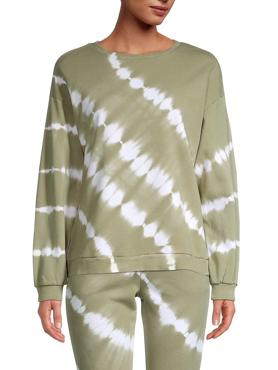 Women's Tie-Dye Sweatshirt