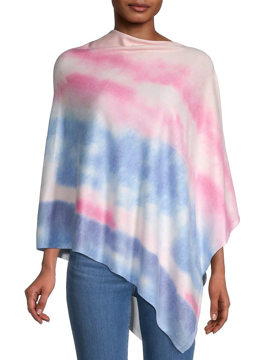 Women's Tie-Dyed Poncho