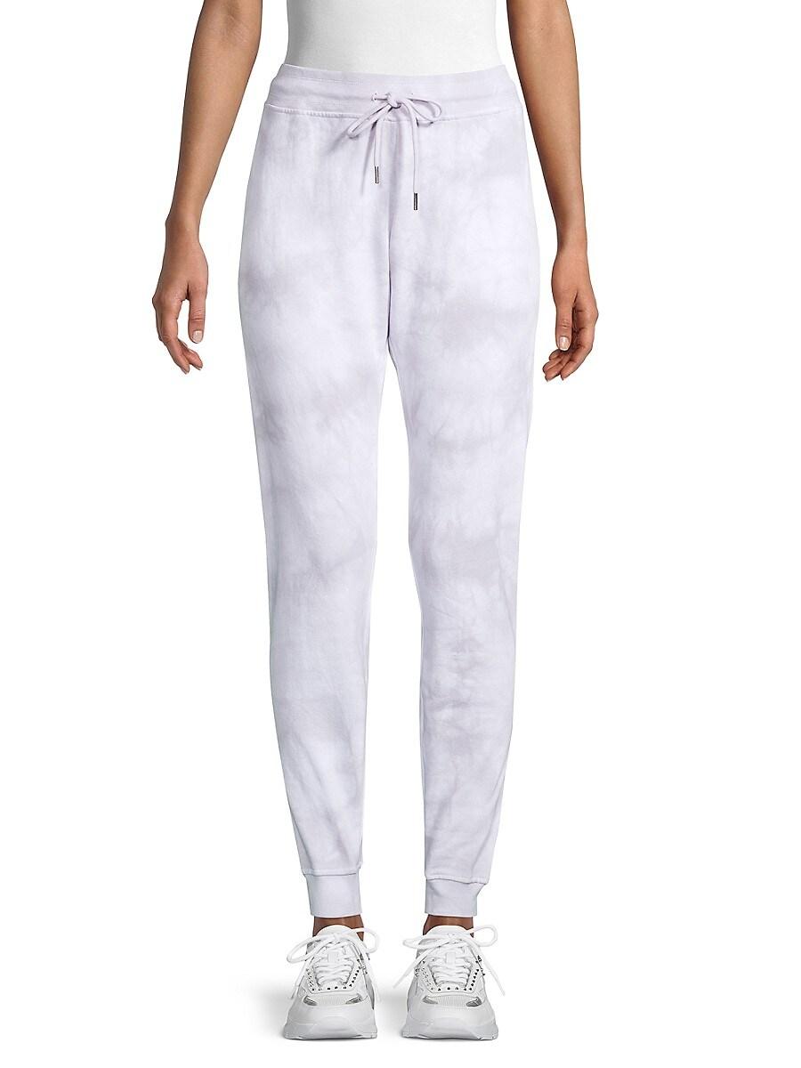 Women's Tie-Dyed Cotton-Blend Jogger Pants