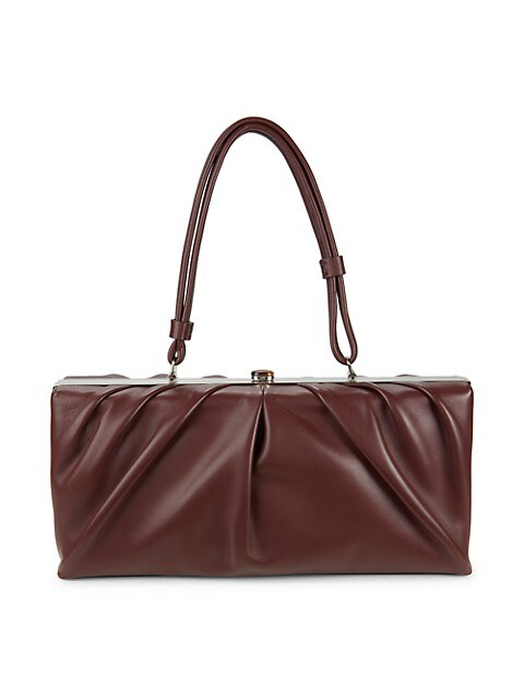Staud East Leather Top Handle Bag $149.99 (62% OFF)