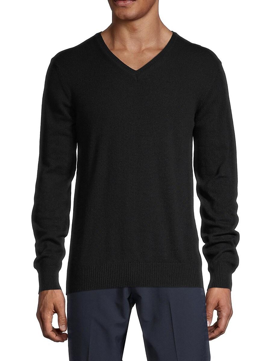 Men's Merino-Wool & Cashmere Sweater