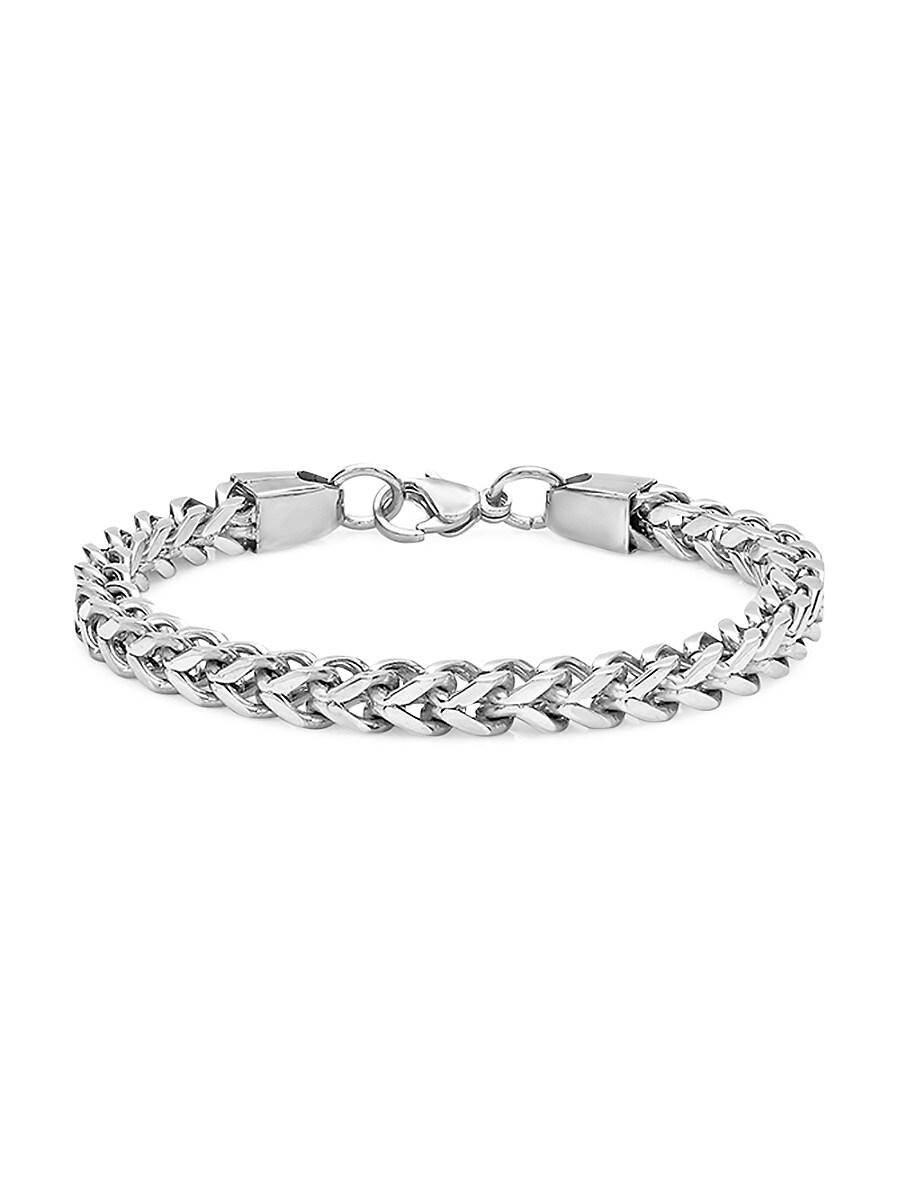 Men's Stainless Steel Chain Bracelet
