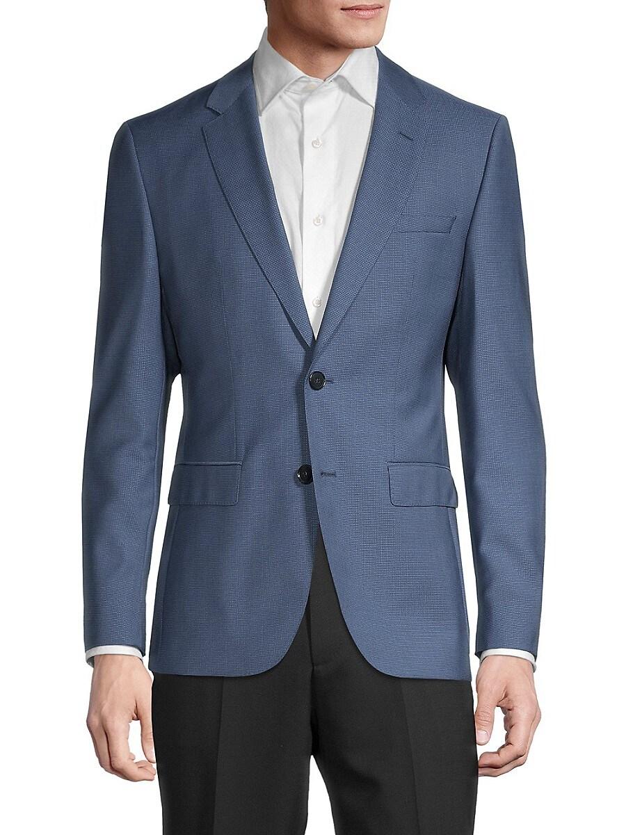 Men's Jeffery 182 Regular-Fit Virgin Wool Jacket