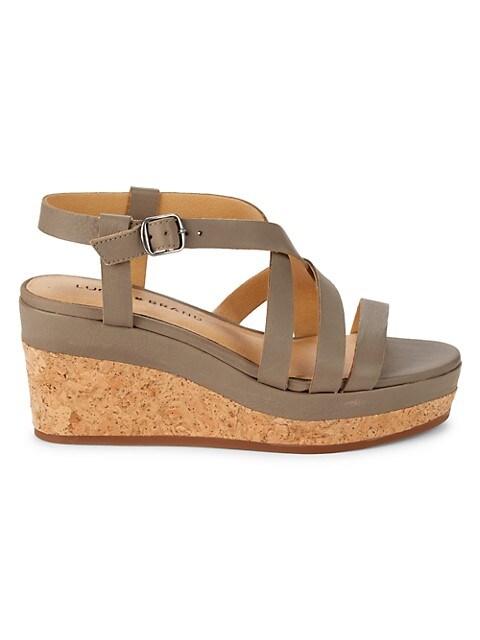 Lucky Brand Batikah Wedge Sandals